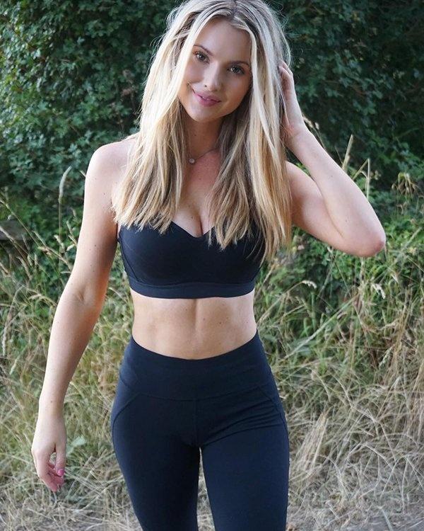 Wallpaper Geek Girl Hot Golfer Lucy Robson Barnorama