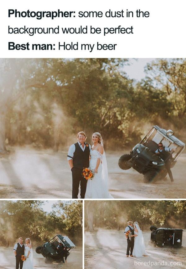 25 Hilarious Wedding Memes  Barnorama