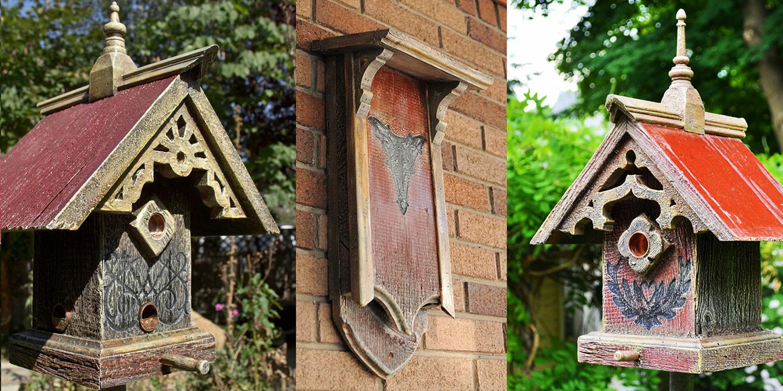 Barns into birdhouses unique birdhouses bird feeders bats owls bluebirds for Types of birdhouses