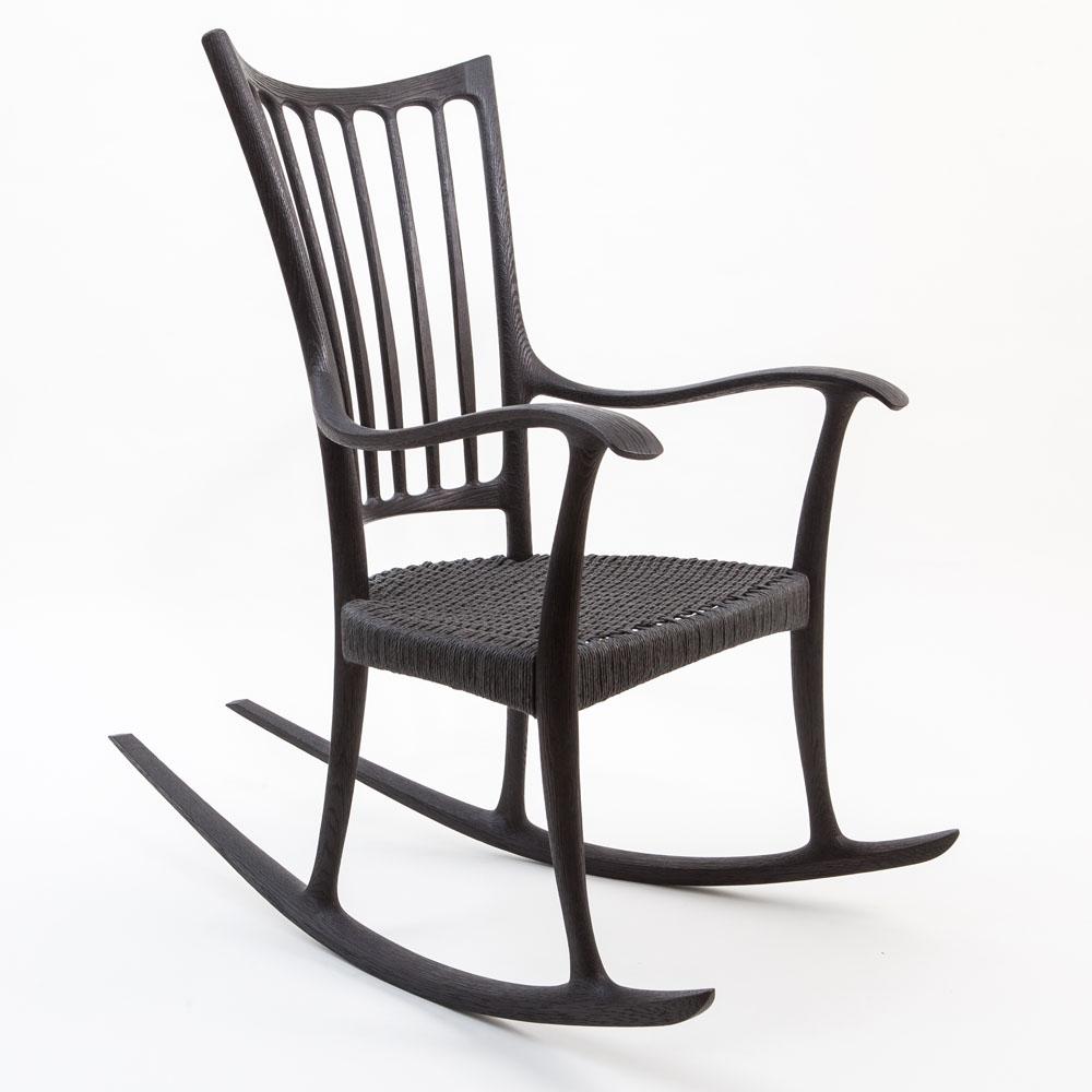 Repose Mk I Rocking Chair  Edward Barnsley Workshop
