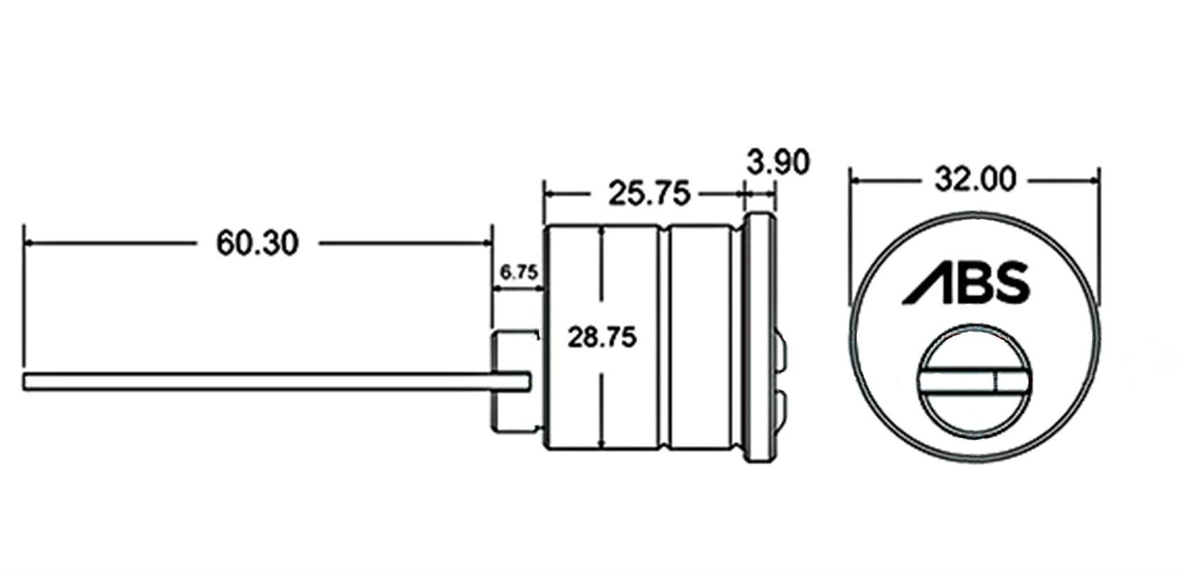 Avocet Abs Rim Cylinders Only 24 99