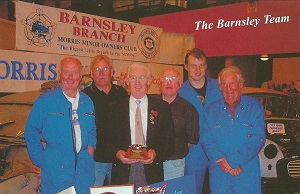 Barnsley Branch Birmingham NEC Display 2001