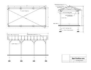 How To Build Wooden Carport Free Car Port Plans