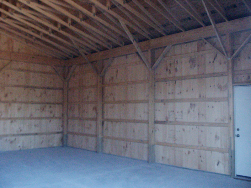 Framing A Metal Building Interior : Pole barn interior framing billingsblessingbags