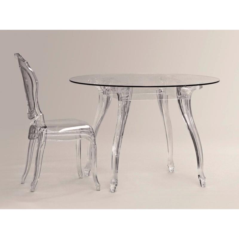 table ronde regina seggiola