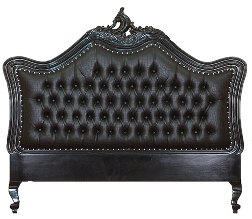 Tte de lit de Baroque