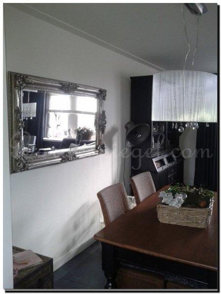 Spiegels in woonkamer  barokspiegelcom