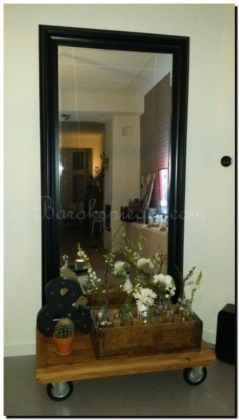 Spiegels in woonkamer  barokspiegel