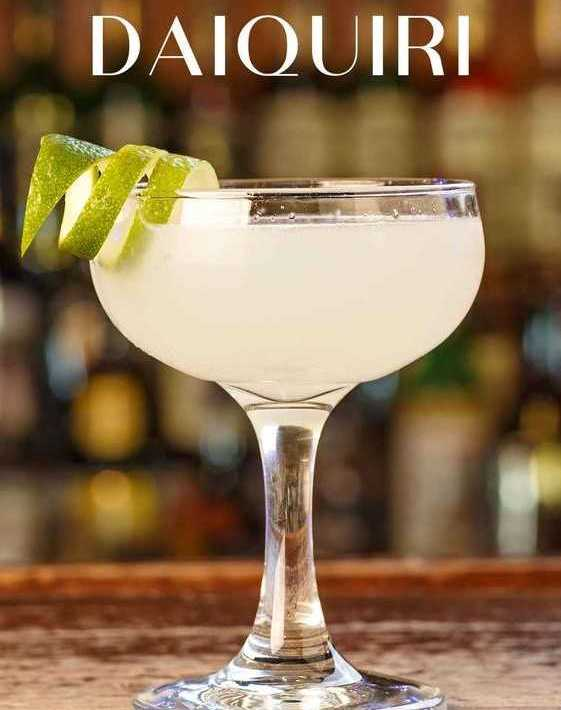 classic daiquiri cocktail kokteyl recipe