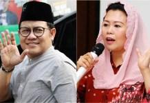 SATU 'PANGGUNG' DI PILPRES 2019: Yenny Wahid (kanan), pilih Jokowi-Ma'ruf Amin di Pilpres 2019 demi 'merebut' PKB dari tangan Muhaimin Iskandar? | Foto: IST