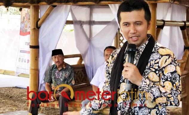 USUNG AGROBISNIS 4.0: Emil Dardak menjadi pembicara di ajang Indo Agro Expo di Banyuwangi, Senin (16/10).   Foto: Barometerjatim.com/ROY HASIBUAN