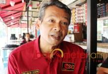 BELUM SATU IRAMA GENDANG: Mochtar W Oetomo, berbagai elemen Jokowi-Ma'ruf Amin belum dalam satu irama gendang karena orientasi politik yang berbeda. | Foto: Barometerjatim.com/ROY HASIBUAN