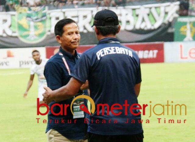 Djajang Nurdjaman, ukir prestasi pelatih jempolan di Piala Presiden. | Foto: Barometerjatim.com/dani iqbaal