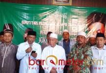 Deklarasi Kiai Muda Bersatu Kota Probolinggo dukung Jokowi-Ma'ruf. | Foto: Barometerjatim.com/roy hs