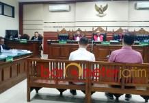 Para penyuap bupati nonaktif Mojokerto bersidang di Pengadilan Tipikor. | Foto: Barometerjatim.com/abdillah hr