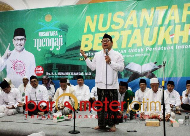 Puncak acara Nusantara Bertaukhid di Masjid Agung Sunan Ampel, Surabaya. | Foto: Barometerjatim.com/roy hs