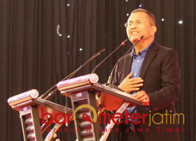 Dahlan Iskan pilih Prabowo karena kecewa dengan janji Jokowi. | Foto: Barometerjatim.com/natha lintang