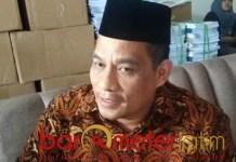 Imam Muchlisin, uang yang diamankan polisi untuk saksi bukan serangan fajar. | Foto: Barometerjatim.com/hamim anwar