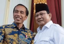 Prabowo Subianto bakal kalahkan Joko Wdodo di Pilpres 2019 versi hasil survei INES:   Foto: Ist