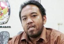 Purnomo Satrio Pringgodigdo, kecam penganiayaan terhadap komisioner Panwascam Waru, Pamekasan.   Foto: Ist