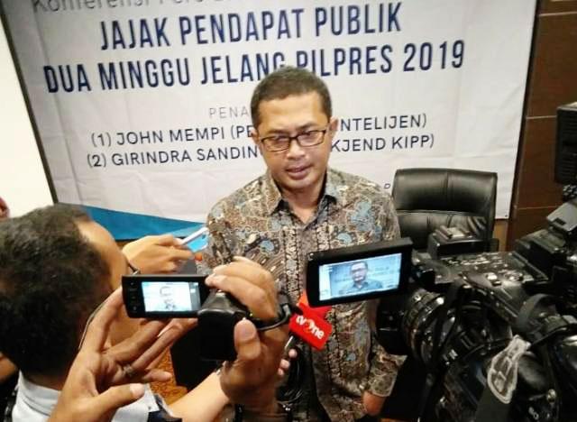 Bin Firman Tresnadi, faktor Sandiaga lebih dongkrak elektabiltas ketimbang Ma'ruf Amin. | Foto: Ist