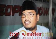 Anwar Sadad, minta PWNU Jatim bijak dalam membuat bahtsul masail. | Foto: Barometerjatim.com/roy hs