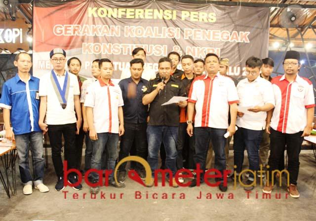 GKPKN serukan elite politik segera rekonsiliasi untuk keutuhan Indonesia. | Foto: Barometerjatim.com/roy hs