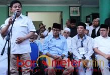 Prabowo-Sandi kalah di Jatim, Soepriyatno (kiri) sebut Pilpres curang. | Foto: Barometerjatim.com/roy hs