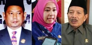 KANDIDAT: (Dari kiri) Ghofur, Kartika Hidayati dan Makin Abbas, layak diusung PKB di Pilbup Lamongan. | Foto: IST