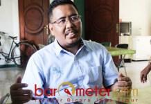 ANCAMAN NU: Anwar Sadad, ubah ancaman NU dari urusan akidah ke politik praktis. | Foto: Barometerjatim.com/ROY HS