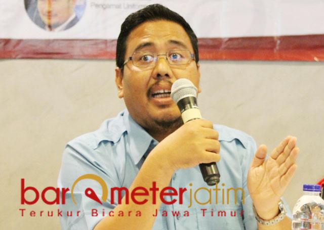 BIROKRASI BAYANGAN: Anwar Sadad, Khofifah jangan percaya birokrasi bayangan dan tertibkan ring 1-nya. | Foto: Barometerjatim.com/ROY HS