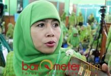 JANJI PKB: Dwi Astuti, dijanjikan lim akursi PKB asal dapat lima kursi tambahan. | Foto: Barometerjatim.com/ROY HS