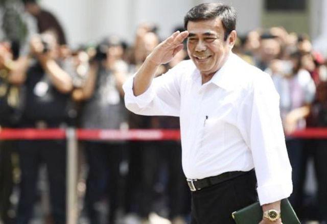 DISOAL KALANGAN NU: Fachrul Razi, ditunjuk Presiden Jokowi sebagai Menteri Agama. | Foto: IST
