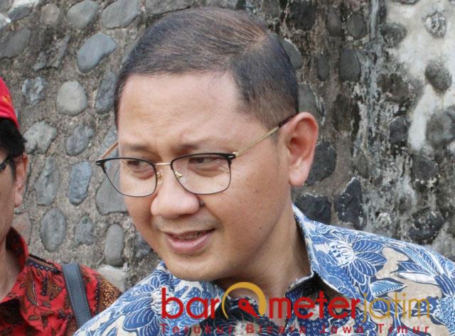 MOTIVASI: Aries Agung Paewai, pernyataan Khofifah bentuk motivasi bagi Pemkot Surabaya. | Foto: Barometerjatim.com/ROY HS