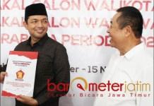 ADA KECOCOKAN: Gus Hans (kiri) dan BF Sutadi, ada kecocokan di Pilwali Surabaya 2020. | Foto: Barometerjatim.com/ROY HS