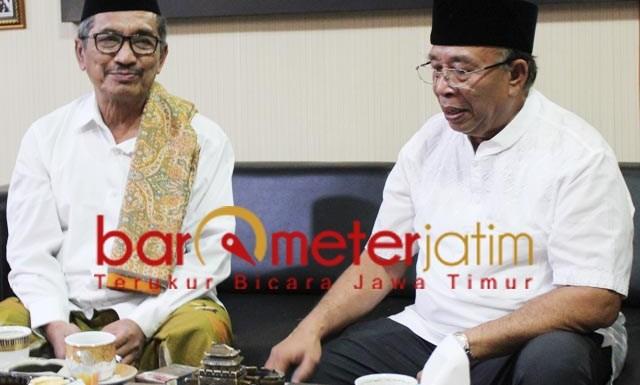 TETAP NU DAN PKB: KH Rofiq Siroj, jangan sampai bupati Sidoarjo dari non PKB. | Foto: Barometerjatim.com/ROY HS