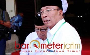 JANGAN DI-AHOK-KAN: Haji Masnuh, ada yang berupaya meng-Ahok-kan Gus Muwafiq. | Foto: Barometerjatim.com/ROY HS