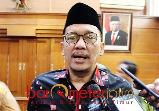 RAJIN EKSPOR: Hasan Aminuddin, Indonesia sering ekspor tapi tak selalu terdengar rakyat. | Foto: Barometerjatim.com/ROY HS