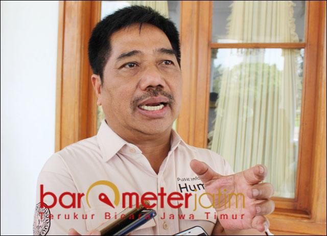 PDIP AMBYAR: Suko Widodo, internal PDIP masih ambyar jelang Pilwali Surabaya.   Foto: Barometerjatim.com/ROY HS