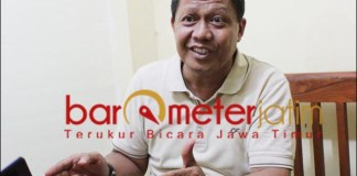 JANGAN SP3: Hari Cipto Wiyono, Palda jangan SP3-kan kasus Japung Bambang DH.   Foto: Barometerjatim.com/ROY HS