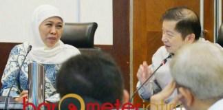 218 PROYEK STRATEGIS: Khofifah dan Suharso Monoarfa, 218 proyek masuk RPJMN 2020. | Foto: Barometerjatim.com/ROY HS