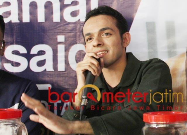BUKAN KAMPANYE: Gamal Albinsaid, minta bedakan beri inspirasi dan kampanye. | Foto: Barometerjatim.com/DOK