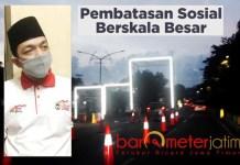 PSBP Bukan PSBB: Gus Hans, tawarkan PSBP untuk memutus penyebaran Corona di Surabaya Raya. | Foto: Barometerjatim.com/ROY HS