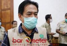 AKIBAT TELEDOR: Nur Ahmad Syaifuddin, 15 warga Sidoarjo positif Corona akibat teledor. | Foto: Barometerjatim.com/ROY HS