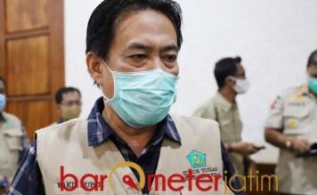 AKIBAT TELEDOR: Nur Ahmad Syaifuddin, 15 warga Sidoarjo positif Corona akibat teledor.   Foto: Barometerjatim.com/ROY HS