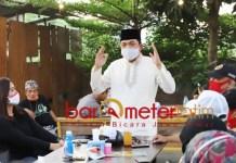 HALAL BI HALAL: Gus Has hadiri halal bi halal relawan Garuda Bintang Nusantara (GBN) Jatim. | Foto: Barometerjatim.com/ROY HS