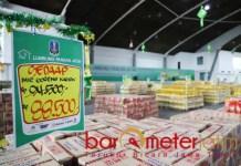 LUMBUNG PANGAN JATIM: ManFaat besar Lumbung Pangan Jatim, diharapkan usai pandemi jadi BUMD. | Foto: Barometerjatim.com/ROY HS