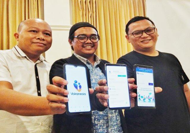 EDU-TECH: Peluncuran Vokanesia di Malang, edu-tech vokasi pertama di Indonesia. | Foto: IST