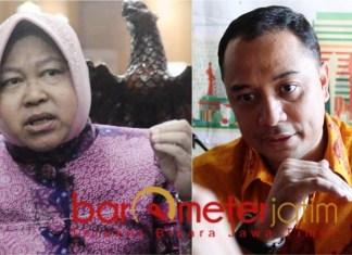 TAK DIUNTUNGKAN: Risma, tak diuntungkan jika Eri Cahyadi hanya diusung sebagai bakal Cawawali. | Foto: Barometerjatim.com/ROY HS