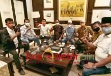 KONSOLIDASI: Eri Cahyadi dan PDIP melakukan konsolidasi lanjutan dengan Parpol non parlemen. | Foto: Barometerjatim.com/ROY HS